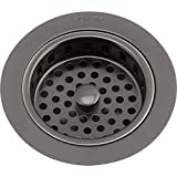 Elkay LKS35AS Antique Steel Drain with Removable Basket Strainer and Rubber Stopper