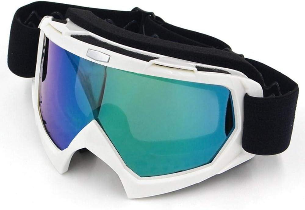 Gafas de Campo traviesa Gafas a Prueba de Polvo y Arena Anti-torsión y Anti-caída Gafas Anti-UV-Lente Colorida