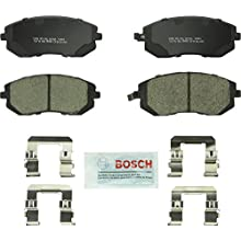 Bosch BC929 QuietCast Premium Ceramic Disc Brake Pad Set For: Saab 9-2X; Subaru Baja, Forester, Impreza, Legacy, Outback, WRX, Front