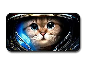 Funny & Cute Astronaut Cat In Space For Apple Iphone 5/5S Case Cover