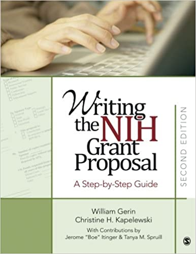 AmazonCom Writing The Nih Grant Proposal A StepByStep Guide