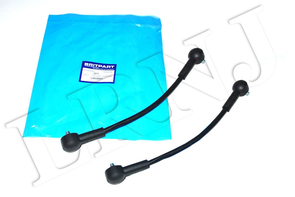 LAND ROVER RANGE ROVER 2003-2010 TAILGATE SUPPORT CABLE SET OF 2 OEM # LR038051