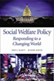 img - for Social Welfare Policy: Responding to a Changing World by John G. McNutt (2015-09-28) book / textbook / text book