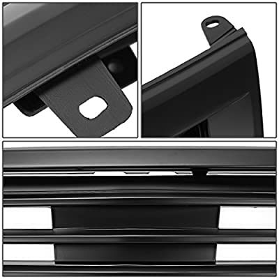 For Honda Accord 4DR Mu Style ABS Plastic Front Grille (Black) - 8th Gen CP CS Pre-Facelift: Automotive