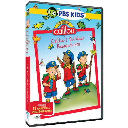 The Best Of Caillou: Caillou's Outdoor Adventures (Best Dvds For Toddlers)