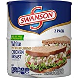 Swanson Premium Chicken, Turkey and Pulled Pork are pre-cooked and ready to use for quick and easy everyday meals, from sandwiches and salads to soups and main dishes.SwansonWhite Premium Chunk Chicken Breast With Rib Meat in Water is pre-cooked and...
