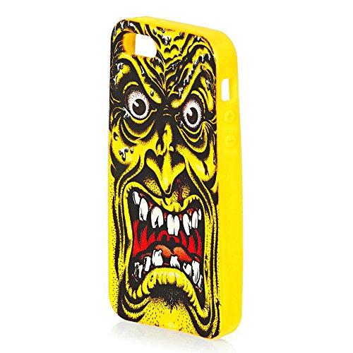 Santa Cruz Rob Roskopp Face Yellow iPhone 5/5S Cover / Ca...