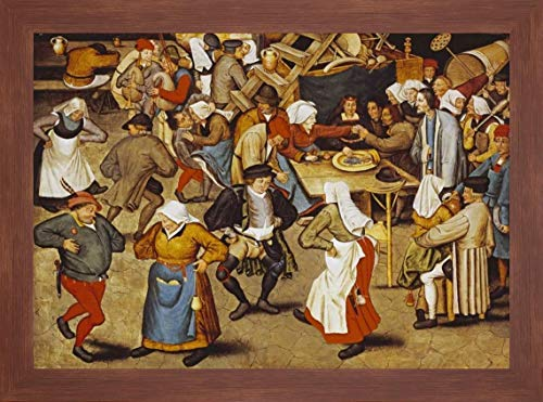 The Indoor Wedding Dance by Pieter Bruegel The Elder - 18