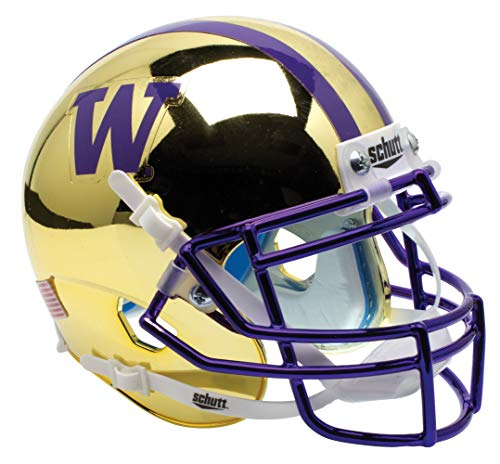 - Schutt NCAA Washington Huskies Mini Authentic XP Football Helmet