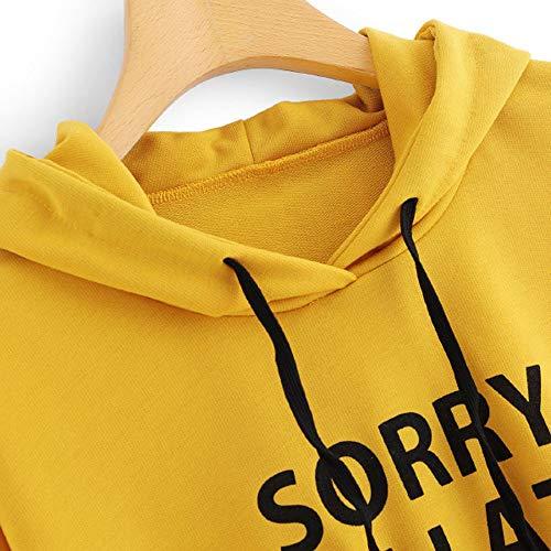 clearance sale!!ZEFOTIM Women O-Neck Hoodie Jumper Long Sleeve Letter Print Sweatshirt Pullover Tops