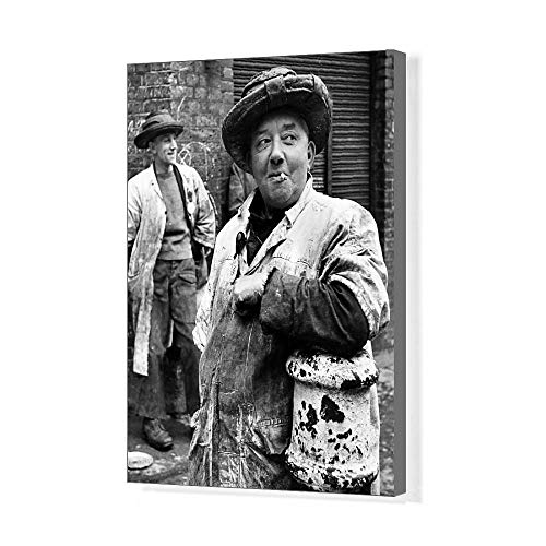 Media Storehouse 20x16 Canvas Print Billingsgate Fish Porters (11738856) ()