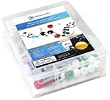 Molecular Model Kit and Software - First of Its Kind Educational Molecule App Bundled with 59 Atom Chemistry Modeling Set - Classroom, Students, Laboratory, Scientists, & Home - MC-001