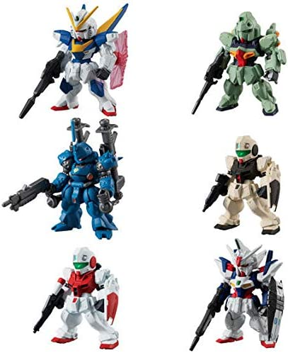 all 6 full set Full comp candy toy goods only FW GUNDAM CONVERGE ♯7