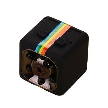 Lanxi® SQ11 Full HD 1080p Mini coche espía cámara oculta DV DVR Dash Cam visión nocturna por infrarrojos, color negro: Amazon.es: Deportes y aire libre