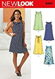 Simplicity Creative Patterns New Look 6263 Misses' A-Line Dress, A (8-10-12-14-16-18)