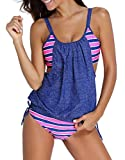 #8: Women's Two-Piece Swimsuits Sexy Swimwear Tankini Set Beachwear Condole Belt Bathing Suit