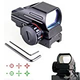 RioRand Generic Red and Green Dot Sight Tactical Reflex 3 Different Reticles