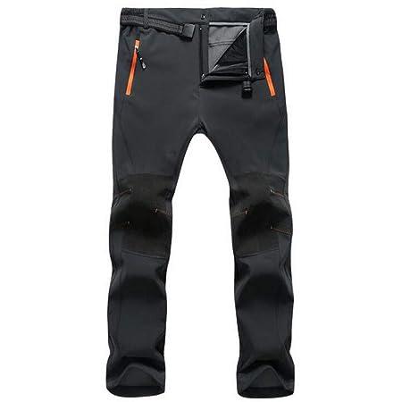 ebb3914e37 QZHE Pantaloni impermeabili Pantalone da Trekking Impermeabile da ...