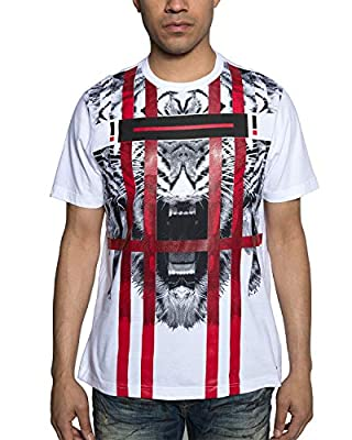 Sean John Men's Tiger Stripes T-Shirt. Tiger Stripes.