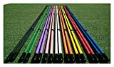 Golf Alignment Sticks Swing Plane Tour Training Aid Practice New!
