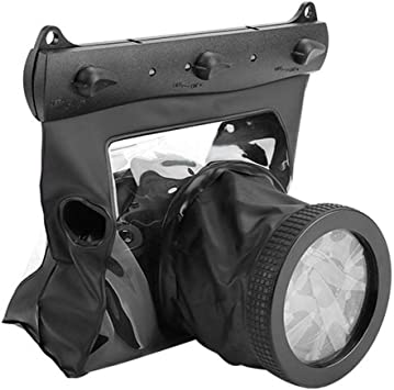 Diyeeni Estuche Impermeable para cámara DSLR, Estuche para cámara subacuática, Estuche Impermeable a Prueba de Polvo para cámaras Digitales SLR(Negro): Amazon.es: Electrónica