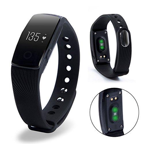 New Smart Watch Heart Rate Monitor Pedometer Fitness Wristband Bracelet Waterproof