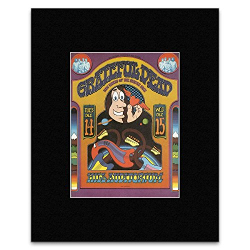 Stick It On Your Wall Grateful Dead New Riders of the Purple Sage - University Of Michigan Ann Arbor 1971 Mini Poster - 36x28cm