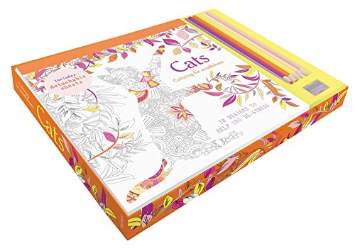 Cats coloring kit