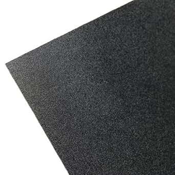 "ABS Sheet - .060"" Thick, Black, 12"" x 12"" Nominal"