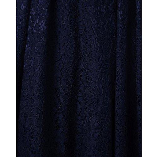 de Corta Elegantes Noche Ropa Manga Fiesta En Coctel Vestido Retro de K Mujer encaje Mujer youth® Armada Vestido Oferta Para Mujer qaEOxOvwP
