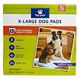 Top Paw X-Large Dog Pads 150 count