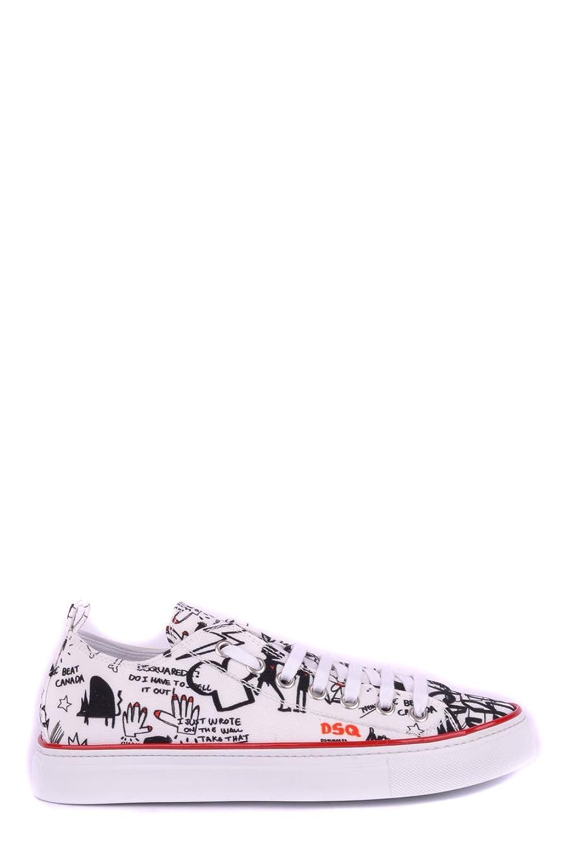 Dsquared2 メンズ S15SN105636M063 マルチカラー ファブリック 運動靴 B07DXFGF1R