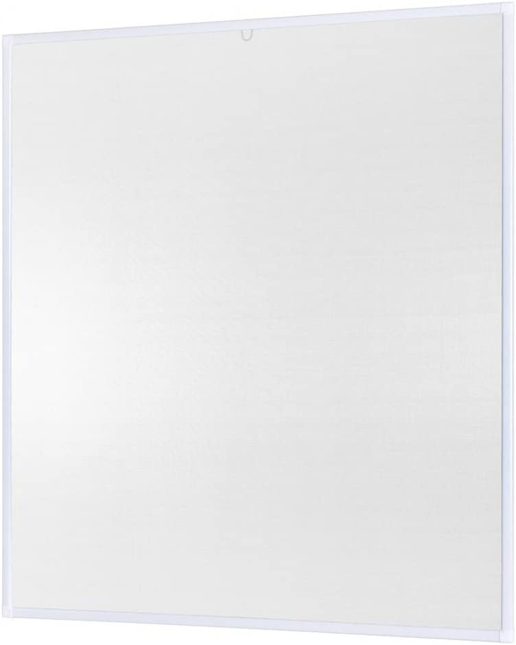 m/ückengitter mit Aluminium Rahmen Fliegengitter Fliegenschutz Insektenschutz ohne Bohren und Schrauben Anthrazit KESSER Fliegenschutzgitter f/ür Fenster Spannrahmen moskitonetz 100 x 120 cm