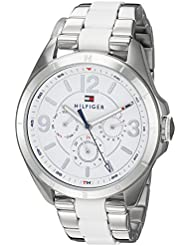 Tommy Hilfiger Womens SOPHISTICATED SPORT Quartz Stainless Steel Casual Watch, Color:Silver-Toned (Model: 1781768)