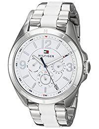 Tommy Hilfiger Women's 'SOPHISTICATED SPORT' Quartz Stainless Steel Casual Watch, Color:Silver-Toned (Model: 1781768)