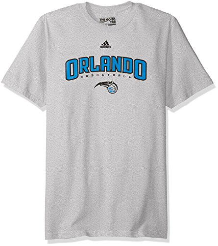fan products of NBA Orlando Magic Men's Miracle Short Sleeve Go-To Tee, Large, Gray