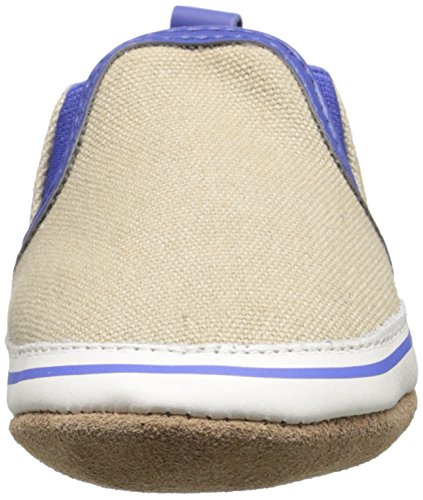 Robeez Liam Soft Sole Crib Shoe (Infant), Taupe, 6-12 Months M US by Robeez (Image #4)