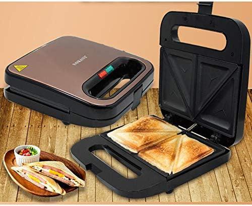 Macchina per Sandwich Snack Deliziosi Prepara la Colazione Fallo da Solo Sicurezza e Salute Rivestimento Antiaderente Antiscivolo Risparmia Tempo e Energia