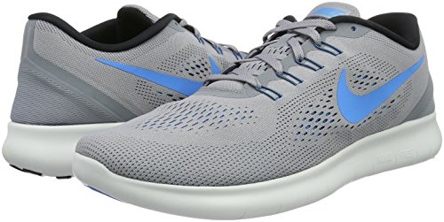 black Glow Nike cool Run Grey stealth Homme Free Gris Running Chaussures De Compétition blue 7P7qrx