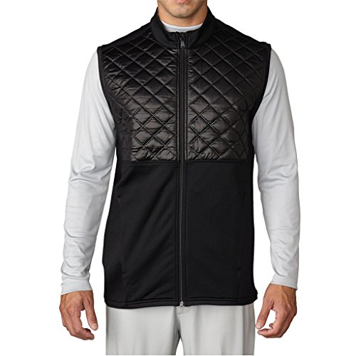 Adidas Golf 2016 Climaheat Prime Fill Gilet Insulated Quilted Mens Golf Thermal Vest Black Small -  AE9309_Negro-S