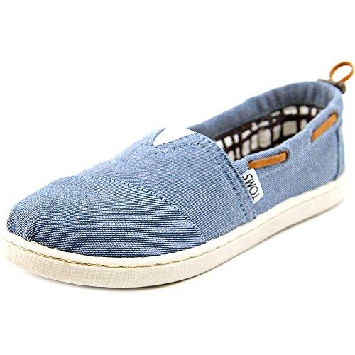 Toms Kids Bimini Chambray Casual Shoe 6 Kids US