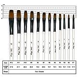 StarVast Painting Brushes, 12pcs Professional