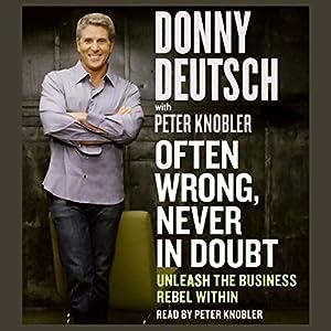 Often Wrong, Never in Doubt Audiobook