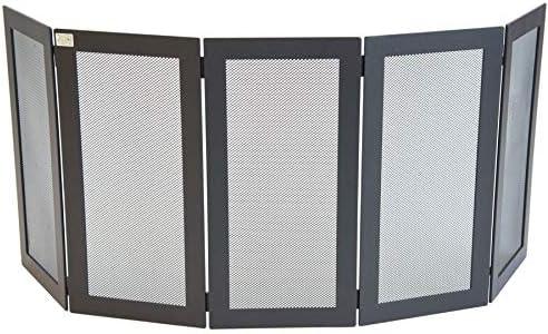 Monza-paragolpes de hierro forjado para chimenea 125 x 50 – 5 cm paneles: Amazon.es: Bricolaje y herramientas