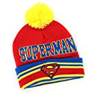 Superman Infant Toddler Knit Hat (Red)