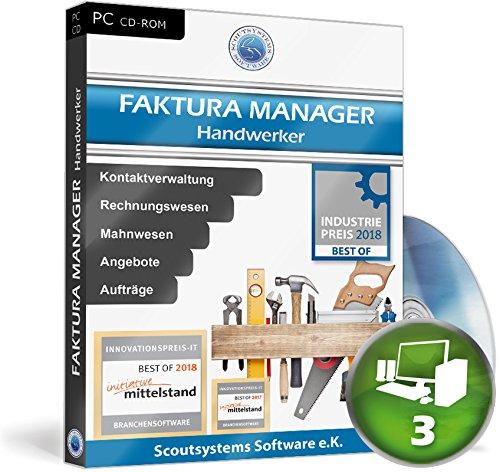 Faktura Manager Handwerker Rechnungsprogramm Netzwerk