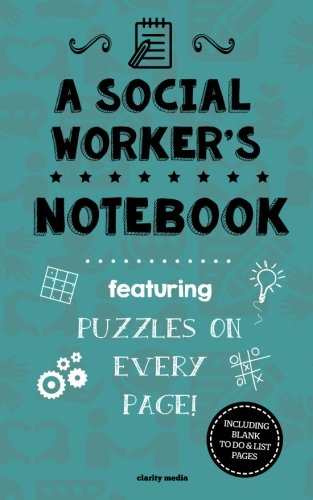 Social Workers Notebook Featuring puzzles product image