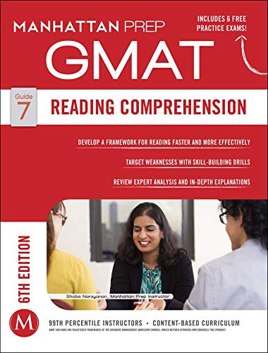 Pdf Reference GMAT Reading Comprehension (Manhattan Prep GMAT Strategy Guides)