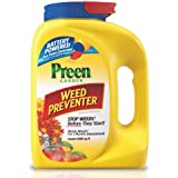 Preen Garden Weed Preventer with Power Spreader Cap - 6.25 lb. Covers 1000 sq. ft.