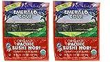 Emerald Cove Organic Non-GMO Verified Pacific Sushi Nori (Dried Seaweed) 10 Sheets - Pack of 2, .9 Ounces Each